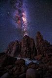 Pinnacles Milky Way