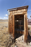 Outside Toilet, Bodie State Historic Park, Bridgeport, California, Usa