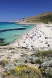 Beach and Bay of Cala Mesquita, Capdepera, Majorca (Mallorca)