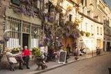People Outside a Cafe on Ile De La Cite, Paris, France, Europe