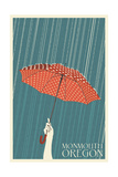 Monmouth, Oregon - Umbrella
