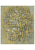 Composition in Brown and Gray (Gemalde no. II : Composition no. IX : Compositie 5), 1913