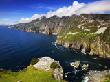 Sea Cliffs of Slieve League in County Donegal, Ireland