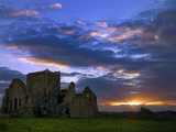 Sunset at Hore Abbey in Tipperary
