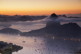 Sugarloaf Mountain (Pao De Acucar) at Dawn, Rio De Janeiro, Brazil, South America