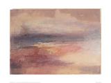 Coastal View at Sunset, 1835