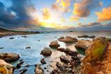 Big Sur Pacific Ocean Coast at Sunset
