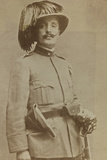 World War I: Portrait of Colonel of Sharpshooters Ragioni