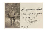 Postcard with Portrait of Italian Soldier of the First World War