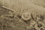 Territorial Militia Soldiers with Machine Gun