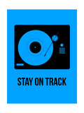 Stay on Track Blue