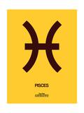 Pisces Zodiac Sign Brown