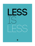 Less Is Less Blue
