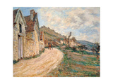 Les Roches at Falaise Near Giverny, 1885