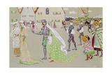 Der Brautzug, Um 1902-1903