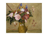 Flowers in a Vase, C. 1886