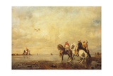 Falcon Hunt in the Sahara, 1863