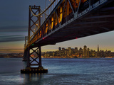 Oakland Bay Bridge with San Francisco Skyline