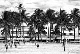 Moment of Life on Ocean Drive - Miami Beach - Florida - USA