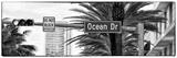 Ocean Drive Sign - Miami Beach - Florida - USA