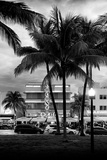 Art Deco Architecture of Ocean Drive - Miami Beach - Florida