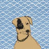 Boho Dogs I