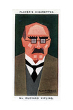 Rudyard Kipling, British Writer and Poet, 1926