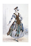 Mademoiselle Sophie, Costume Design for an Opera, C1820-1857
