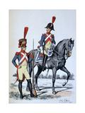 Imperial Gendarmerie of Paris, 1813