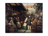 Leadenhall Market, London, 1865