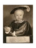 Prince Edward, Later King Edward VI, C1540