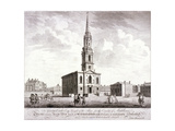 St Giles in the Fields, Holborn, London, 1753