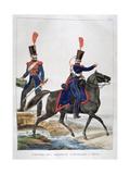 Uniform of a Regiment of Horse Artillery, France, 1823