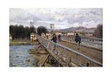 Foot Bridge at Argenteuil, 1872