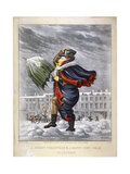 A Merry Christmas and a Happy New Year in London, C1825
