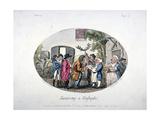Swearing at Highgate, 1796