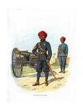 The Bombay Artillery, C1890