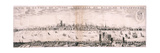 View of London from the South, 1643