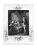Henry IV Reproving Prince Henry