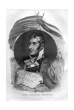 Admiral Sir William Sydney Smith (1764-184), Naval Commander, 1816