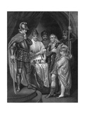 Balliol Surrendering His Crown to Edward I of England, 1296