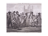 Manning the Navy, Tower Hill, London, 1790