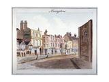 Newington, Southwark, London, 1825