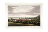 View of Greenwich, London, 1795