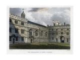 The Quadrangle of Jesus College, Oxford University, C1830S