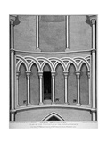 Part of the Vestibule of the Temple Church, City of London, 1812