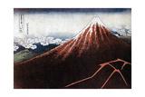 Fuji Above the Lightning, C1823