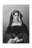 Catherine of Aragon (1485-153), the First Wife of King Henry VIII, 1851