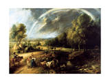 Landscape with a Rainbow, C1630