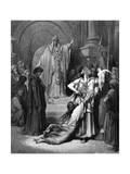 Judgement of Solomon, 1866